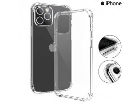 Silikónové Púzdro Luxria Clear Absorb pre Apple iPhone Priehľadne