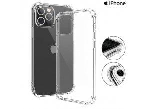 Silikónové Púzdro Luxria Clear Absorb pre Apple iPhone Priehľadne 1