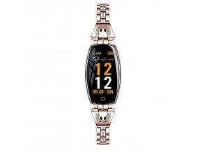 Dámske smarthodinky Luxria H8 smartwatch 2