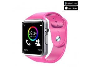 Luxria Classic A1 - Ružové inteligentné hodinky 1
