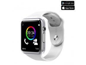 Luxria Classic A1 - Biele inteligentné hodinky 1
