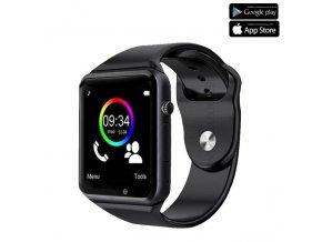 Luxria Classic A1 - Čierne inteligentné hodinky 1