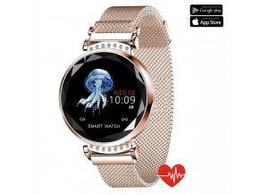 luxria smartwatch sl08 zlate 6