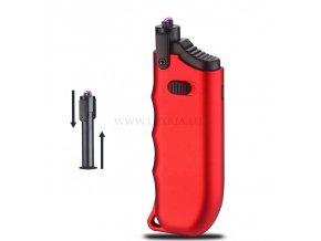Bonfire - Plazmový zapaľovač červený