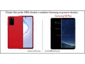 Silikónové púzdro Luxria Premium pre Samsung Červene 1