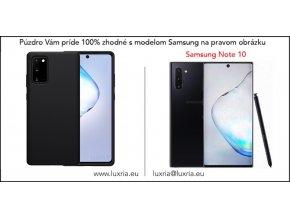 Silikónové púzdro Luxria Premium pre Samsung Čierne 2