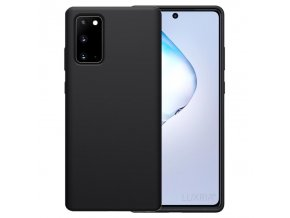 Púzdro Luxria Premium pre Samsung Čierne (Liquid Silicone & Soft Touch)