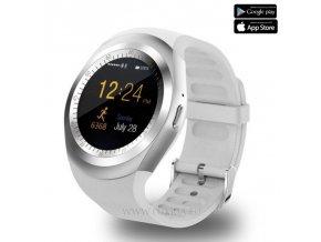 Luxria Smarty Y1 - Biele inteligentné hodinky 1