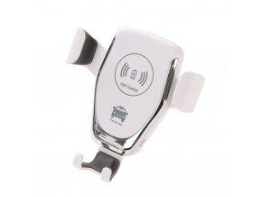 Luxria Smart Holder - Biely držiak do auta s bezdrôtovým nabíjaním