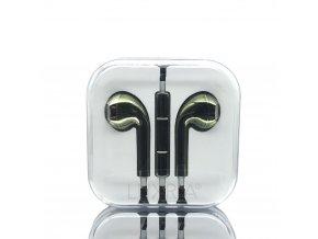 EarMax Chrome Khaki - Kaki slúchadlá s mikrofónom a ovládaním hlasitosti