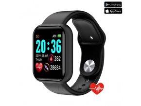 Luxria SmartWatch LX1 cierne inteligetné hodinky
