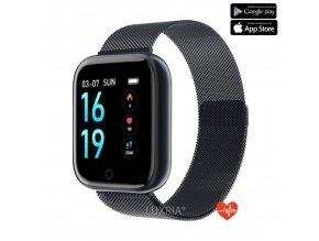 Luxria SmartWatch LX1 Pro cierne inteligetné hodinky
