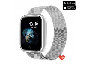 Luxria SmartWatch LX1 Pro strieborne inteligetné hodinky