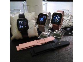 Luxria SmartWatch LX1 Pro ruzove inteligetné hodinky
