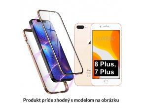 Luxria Double Glass Magnetic Zlate presklené magnetické púzdro pre iPhone 5