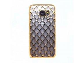 Luxria Zlatá mriežka Samsung Obal 1