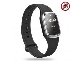 Luxria Anti Mosquito Watch Čierne digitálne hodinky s odpudzovačom hmyzu 1