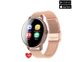Luxria SmartWatch P8 Zlaté inteligentné hodinky (celokovové)