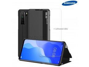 Púzdro Luxria SmartCase pre Samsung Galaxy cierne