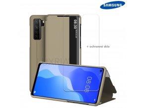 Púzdro Luxria SmartCase pre Samsung Galaxy zlate