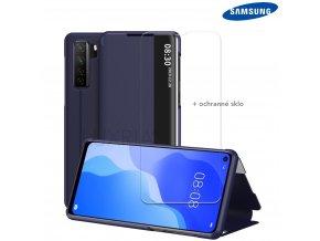 Púzdro Luxria SmartCase pre Samsung Galaxy modre