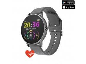 luxria smartwatch p8 inteligentne hodinky celokovove 22