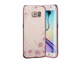 Ružový Kvet Samsung Obal Luxria 1
