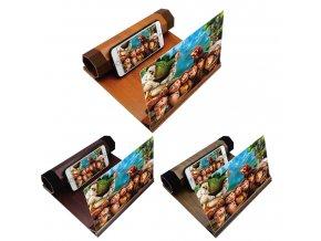home cinema wood zvacsovac obrazovky pre mobilne telefony tri farby