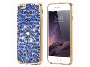 Abstrakt Modrý iPhone Obal Luxria 1 + Darček 2071c4836d6