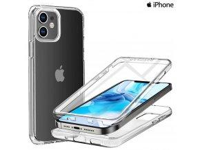 dvojdielne puzdro luxria clear 360 pre apple iphone priehladne 1