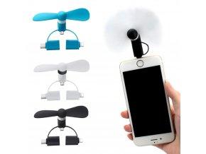 luxria minifan 3in1 ventilator pre smartphony