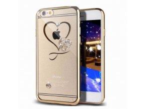 Abstrakt Chrómovo Zlatý iPhone Obal Luxria 1 + Darček 4cc0d2a6ee4
