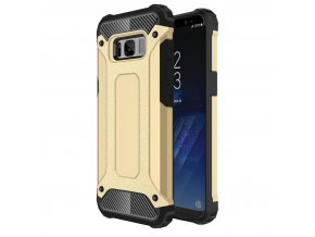 Samsung Galaxy S8 : S8 Plus Armor Obal Zlatý 1