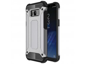 Samsung Galaxy S8 : S8 Plus Armor Obal Strieborný 1