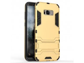 Samsung Armor II so stojanom zlatý. Vhodný pre Samsung Galaxy S8 : S8 Plus 1