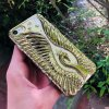 Silikónové Púzdro Diamond Swan pre Apple iPhone - Zlaté (8 Plus, 8, 7 Plus, 7, SE 2020, 6s Plus, 6 Plus, SE, 5s, 5)  + jeden obal zadarmo ako prevkapenie