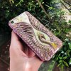 Diamond Swan Rose Gold iPhone obal pre iPhone Luxria (14)