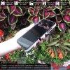 Otvaracie puzdro Roybens Clear View pre iPhone, Samsung, Huawei, Xiaomi a Honor strieborne luxria (2)
