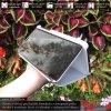 Otváracie Púzdro Roybens Clear View pre Samsung - Strieborné 3