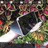 Otvaracie puzdro Roybens Clear View pre iPhone, Samsung, Huawei, Xiaomi a Honor strieborne luxria (5)