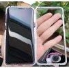 Magnetické púzdro Roybens Magnetic pre Samsung - Strieborné  + darček ochranné sklo a dotykové pero