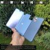 Otvaracie puzdro Roybens Clear View pre iPhone, Samsung, Huawei, Xiaomi a Honor modre luxria (5)