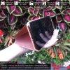 Otvaracie puzdro Roybens Clear View pre iPhone, Samsung, Huawei, Xiaomi a Honor ruzove luxria (3)