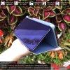 Otvaracie puzdro Roybens Clear View pre iPhone, Samsung, Huawei, Xiaomi a Honor modre luxria (3)