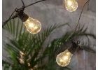 Svetelná reťaz so žiarovkami - osvetlenie na terasu