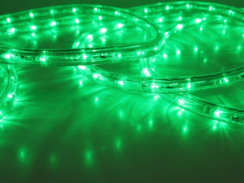LED hadica zelená vonkajšia