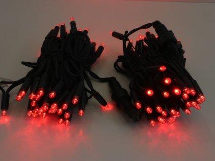svetelna retaz 10m 100led cervena