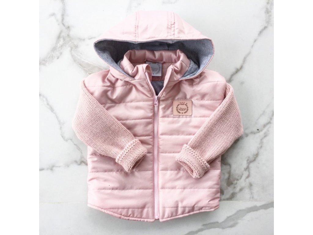 Lattante prechodná bunda bledo ružová spring jacket powder pink 1 39dc6b59e2
