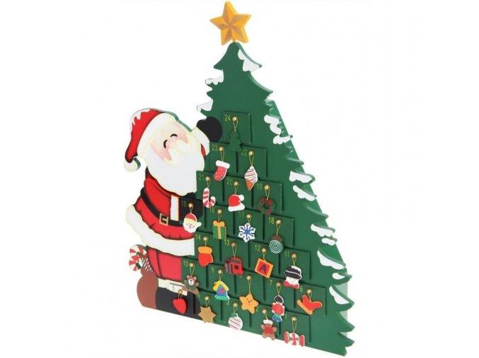758 adventni kalendar santa claus
