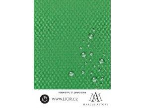 EXAM 600D zelená látka 084 (Látka 1 bm)